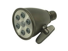 "Kingston Brass CK138A5 3"" Diameter Adjustable Shower Head With 6 Jets - Oil Rubbed Bronze"