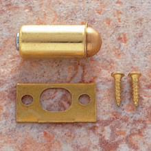 "JVJ 92237 Polished Brass 1/2"" Diameter Bullet Catch"