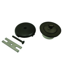 Kingston Brass DLT5301A5 Lift And Turn Tub Drain Kit - Oil Rubbed Bronze