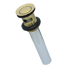 Kingston Brass KB8102 Brass Push Up Drain - Polished Brass