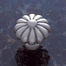 "JVJ 35146 Satin Nickel 35 mm (1 3/8"")  Pumpkin Door Knob"
