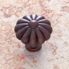 """JVJ 35112 Old World Bronze 35 mm (1 3/8"""")  Pumpkin Door Knob"""