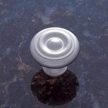 "JVJ 35046 Satin Nickel 1 1/4"" Georgian Door Knob"
