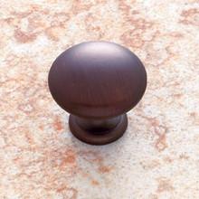 """JVJ 30512 Old World Bronze 1 1/8"""" Mushroom Door Knob"""