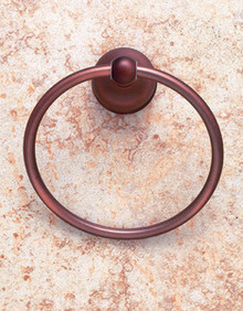 JVJ 25506 Liberty Series Old World Bronze Towel Ring