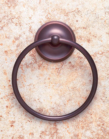 JVJ 24406 Paramount Series Old World Bronze Towel Ring