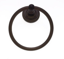 JVJ 23306 Highland Series Old World Bronze Towel Ring
