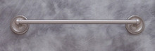 "JVJ 23624 Roped Series Satin Nickel 24"" Towel Bar"