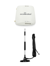 "Accelerated 6310-DX LTE Router CAT 4 w/ 13""- XHD 8dBi Military Grade 3G 4G 5G LTE Magnetic Mount Antenna - SMA Male"