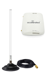 Accelerated 6310-DX LTE Router CAT 4 w/ 12dBi Fiberglass Antenna Cellular  4G 5G LTE AWS XLTE M2M IoT with Mag Mount