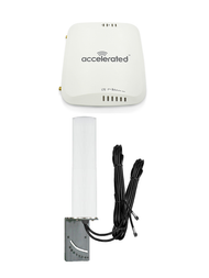 Accelerated 6310-DX LTE Router CAT 6 w/ 9dBi MIMO Antenna, 2 x 16 FT Cables - SMA Male