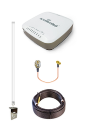 Accelerated 6330-MX LTE Router CAT 6 w/ 12dBi LTE Antenna, 50 FT Cable + Adapter - SMA Male