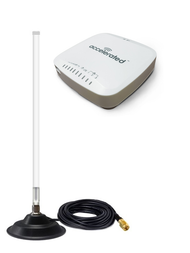 Accelerated 6330-MX LTE Router CAT 6 w/ 12dBi Fiberglass Antenna Cellular 4G LTE AWS XLTE M2M IoT with Mag Mount
