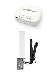 Accelerated 6335-MX LTE Router CAT 6 w/ 9dBi MIMO Antenna, 2 x 16 FT Cables - SMA Male