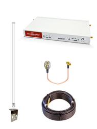Accelerated 6350-SR LTE Router CAT 6 w/ 12dBi LTE Antenna, 100 FT Cable + Adapter - SMA Male