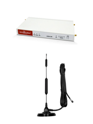 """Accelerated 6350-SR LTE Router CAT 6 w/ 13""""- XHD 8dBi Military Grade 3G 4G LTE Magnetic Mount Antenna - SMA Male"""