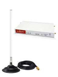 Accelerated 6350-SR LTE Router CAT 6 w/ 12dBi Fiberglass Antenna Cellular 4G LTE AWS XLTE M2M IoT with Mag Mount