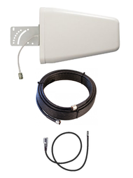 10dB Yagi 4G LTE Antenna Kit For AT&T ZTE Velocity 2 MF985 Mobile Hotspot w/ Cable Length Options