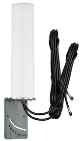 9dBi DIGI Transport WR11 - XT Router M19 Omni Directional MIMO Cellular 4G LTE AWS XLTE M2M IoT Antenna w/16ft Coax Cables -2  x SMA