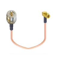 """8"""" Cradlepoint AER1600 Cellular / GPS Antenna Adapter Cable - N Female / SMA Male"""