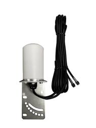 7dBi Verizon Novatel T1114 Router M16 Omni Directional MIMO Cellular 4G 5G LTE AWS XLTE M2M IoT Antenna w/16ft Coax Cables -2  x SMA