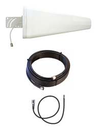 12dB Yagi LTE Antenna Kit for AT&T MF985 Velocity 2 Hotspot Router w/Cable Length Options