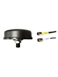 M400 2-Lead GPS / Cellular 3G 4G 5G LTE Bolt Mount M2M IoT Antenna for BEC MX-210 Router