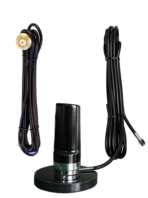 7dBi LTE M2M IoT Low Profile Antenna w/NMO Mount Standard - w/ Cable Length Options