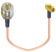 """8"""" Adapter Cable for Inseego SKYUS-SA-2100 Gateway External Antenna (N-Female / SMA Male)"""