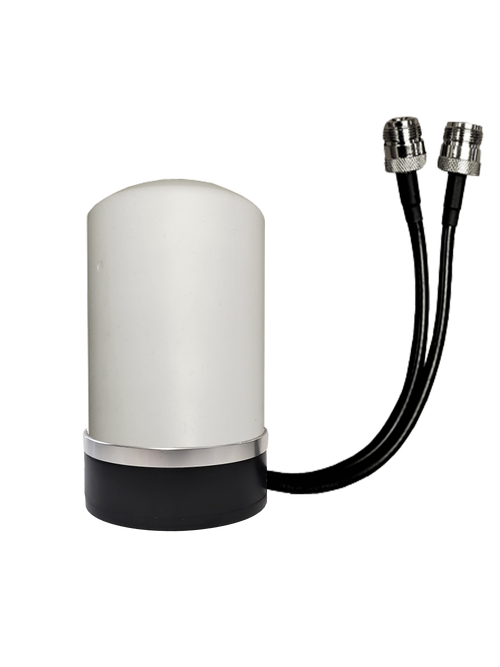7dBi M17 Omni Directional MIMO Cellular 4G 5G LTE AWS XLTE M2M IoT Antenna w/ Magnetic Base for Inseego SKYUS-DS Modem w/1FT N-Female Coax Cables. w/ Cable Length Options