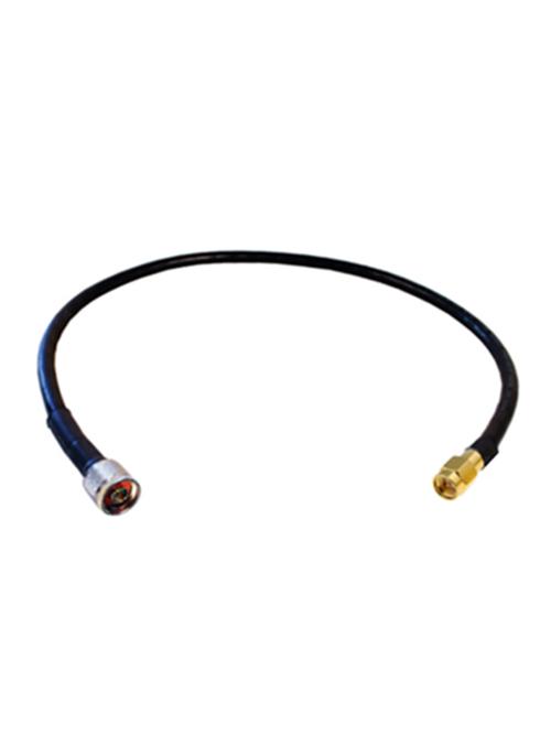 2ft AGA240 Coax Jumper Cable - N Male / SMA Male