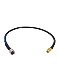 2ft AGA240 Coax Jumper Cable - N Male / SMA Male