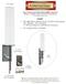 9dBi Sierra Wireless RV55 Gateway M16 Omni Directional MIMO Cellular 4G LTE AWS XLTE M2M IoT Antenna w/16ft Coax Cables -2  x SMA