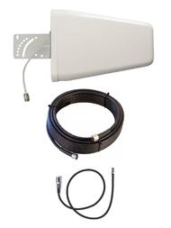 10dB Yagi LTE Antenna Kit Sprint Hotspot MIFI Sprint 8000L w/Cable Length Options