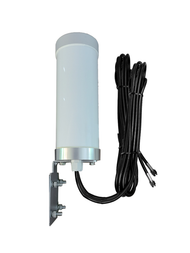 M29T MIMO Omni Directional Cellular 3G 4G 5G LTE Band 71 External Data M2M IoT Antenna - 2x 16ft SMA-M - Main