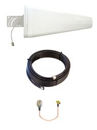 12dB Yagi LTE Antenna Kit AT&T U115 Gateway  w/Cable Length Options