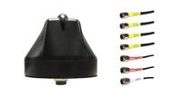 Peplink Balance-20X - M670 7-Lead Multi MIMO 4 x Cellular LTE / GPS GNSS / Multi MIMO 2 x WiFi Bolt Mount M2M IoT Antenna.