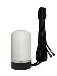Peplink BR1-Mini - M17 Omni Directional MIMO Cellular 4G 5G LTE AWS XLTE M2M IoT Magnetic Base Antenna w/16ft Coax Cables -2  x SMA