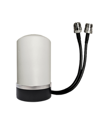 Peplink BR1-Mini - M17 Omni Directional MIMO Cellular 4G 5G LTE AWS XLTE M2M IoT Antenna - Magnetic Base w/1FT N-Female Coax Cables. w/ Cable Length Options