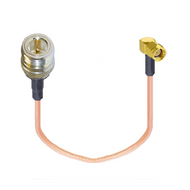 """8"""" External Antenna Adapter Cable - N Female / RP SMA Male - Main"""