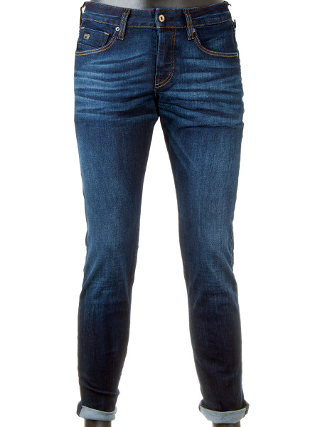 Dark Denim Regular Slim Fit Jeans