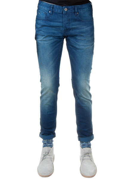 Mid-Blue Denim Jeans