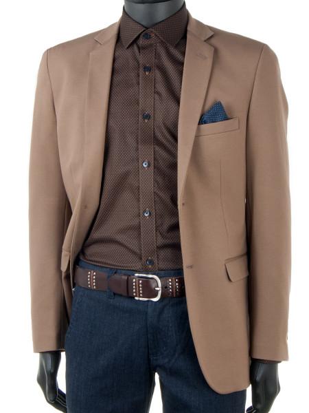 Oatmeal Jersey Jacket