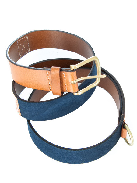 Leather & Suede Belt