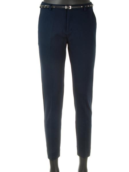 Navy Slim Fit Jersey Pants