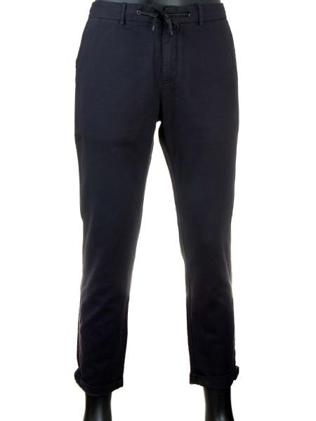 Coal Cotton Linen Trousers