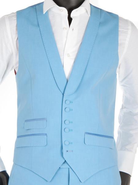 Sky Blue Waistcoat