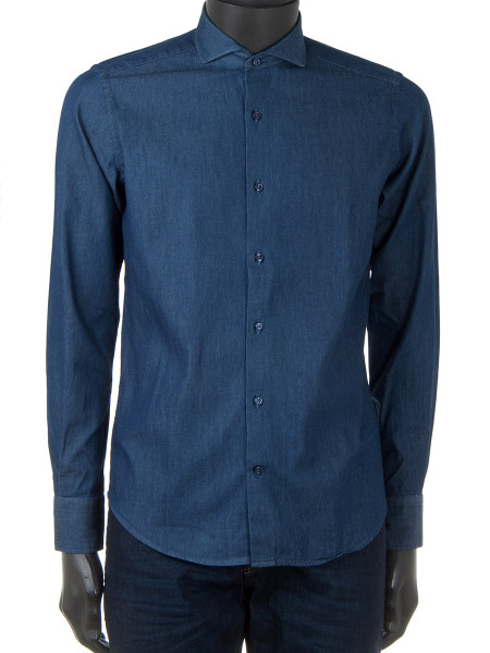 Blue Denim Twill Shirt