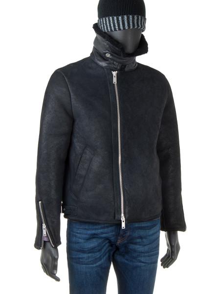 Aviator Sheepskin Leather Jacket