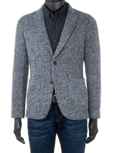 Knitted Blazer Midgrey Melange